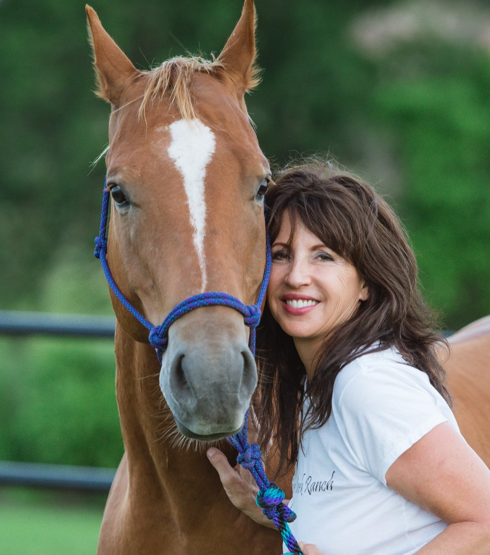 With Laurie as your facilitator, take a journey with Horse as co-facilitator to explore your inner landscape and reveal your authentic self. - As herd animals, it is critical for horses to live in the present at all times using their sensitivity and emotional intelligence to survive. Possessing this acute sensory awareness and authenticity, Horse can teach you to become more present and reconnect with your inner wisdom and intuition, as well as navigate difficult emotions.Through this work you will gain valuable information in becoming more proactive in your life - information such as insight on the purpose of emotions, managing your energy bubble or field, and learning techniques for more authentic communication.                                             Laurie creates a custom experience for each client by drawing from the fibers of her own personal weave of healing and mastery within various modalities such as Equine Facilitated Learning, shamanism, medicine wheel ceremonies, Pleiadian energy healing, Kundalini yoga, and healthy eating.You will definitely come away with more tools in your tool box. Laurie's fun loving personality and deeply compassionate spirit coalesce with her life long commitment to assist others in their evolution. The result is a one of kind experience for those ready to live their best Life!