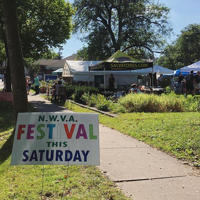 We are here at the @northwintonvillage Festival of the Arts until 5pm today! Come stop by and say hi, and enjoy the arts, crafts, and live music on this beautiful, sunny, and warm September day! #northwintonvillage #trythetriangle #thisisroc #rochesterny