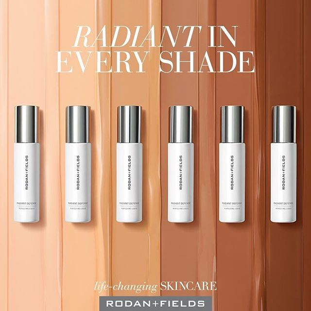 Not one, not two, but three new products were announced today!  INTRODUCING: Radiant Defense Perfecting Liquid! Get your glow on with this powerful multitasker that protects and adds instant polish to your skin. Its six luminous shades can be worn alone or mixed for a hue that's unique to you. 🌞 Neutralizes the harmful effects of environmental aggressors. 💧 Repair skin's natural moisture barrier. 💥 Protects it from sun damage caused by UVA and UVB rays.  Next up! Wipe away the day with the NEW Rodan + Fields Essentials Instant Makeup Remover Wipes and Complete Eye Makeup Remover.  All three are available to everyone starting October 1 or before then if you join me in the biz!  #lifechangingskincare #rodanandfields