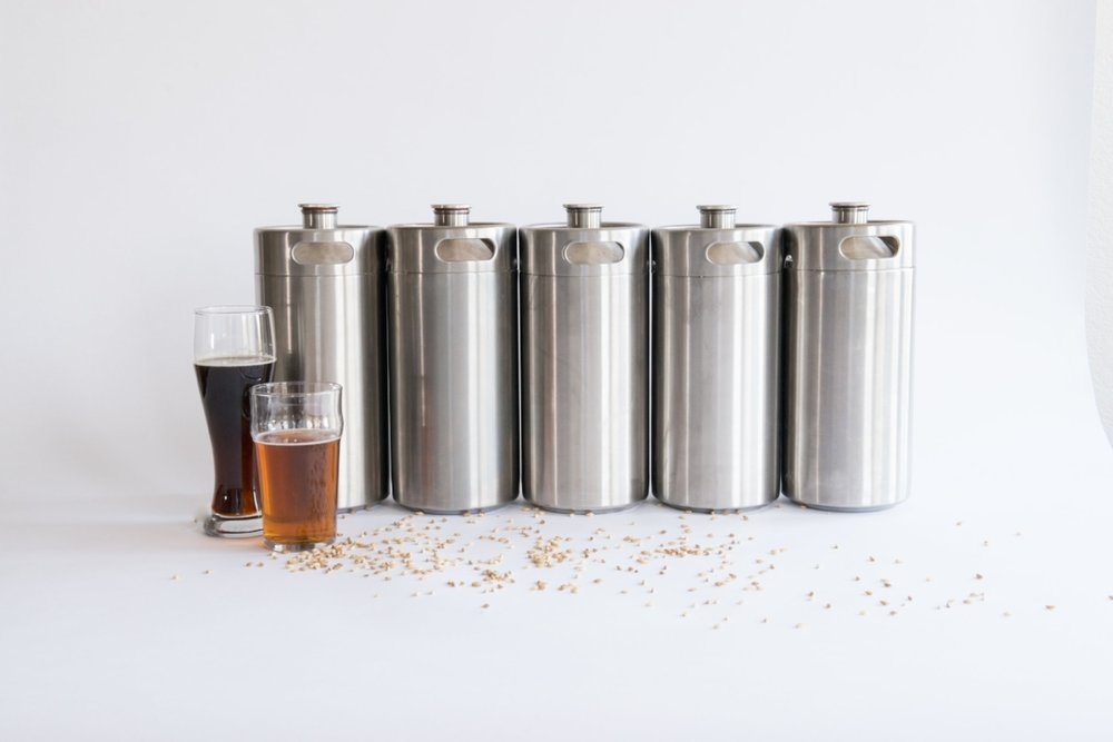 Sick of bottle conditioning? Want to keg but don't have room? Need something awesome to serve your homebrew in? -