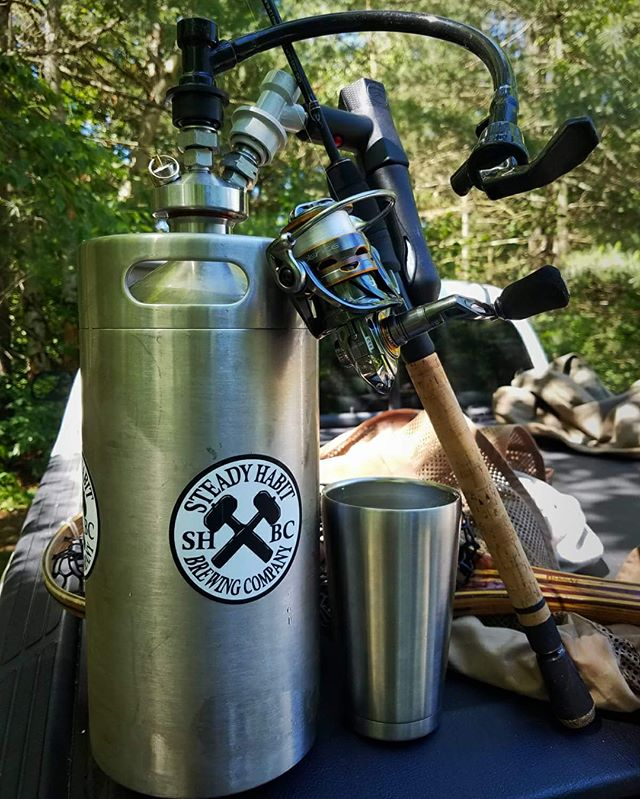 """From Matt W: """"The Mealie Master never hits the river with his ManCan survival kit.  Nothing better than the flavor of tap beer and being able to have it on the go is just a bonus.  Luv the ManCan!!!"""" ___________________________________________________ #longlivemancan 🍺www.ManCan.beer🍺"""