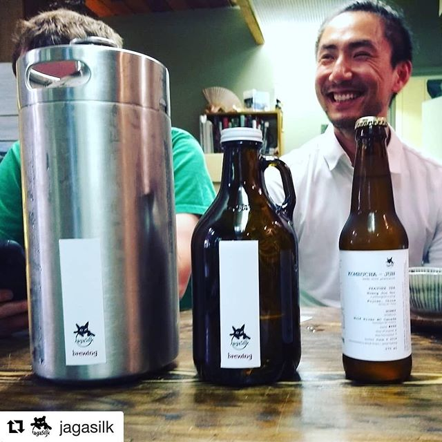 #Repost @jagasilk with @get_repost ・・・ Filled our first #mancan courtesy of @billiam.io . 128oz of #kombucha #jun goodness. He says it should last the weekend. I don't know if that's okay or not. Better be sharing... :) ________________________________ 🍺www.ManCan.beer🍺