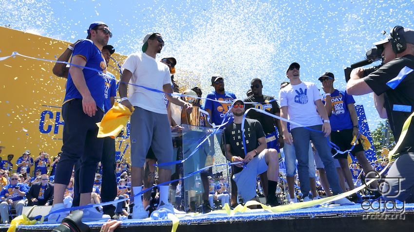 Warriors Championship Parade and Rally
