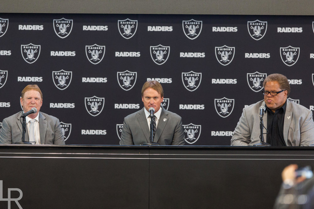 "Will Jon Gruden coach the Raiders for 10 years? ""I don't have a guarantee to be alive for 10 years."""