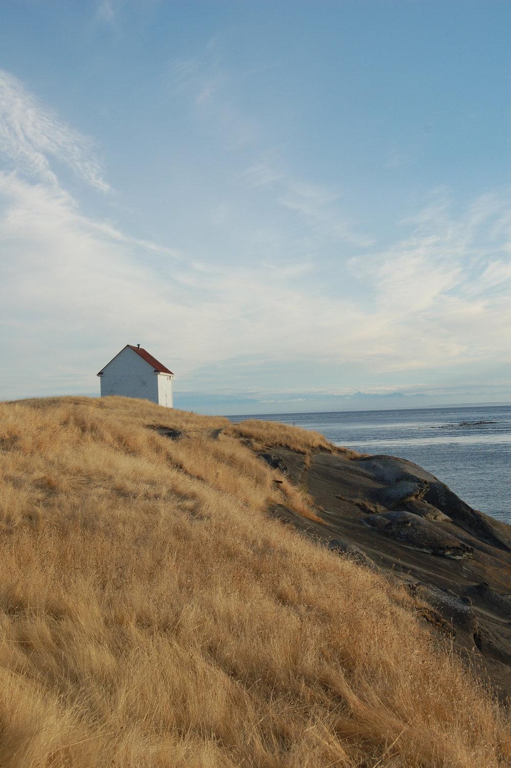 Fog Alarm Hut, Saturna Island