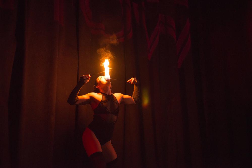 Miss 360 illuminates the night | Wondershow at House of Yes, Brooklyn, NY