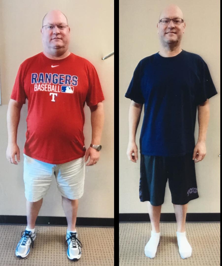 Nedar P. Lost 44 lbs