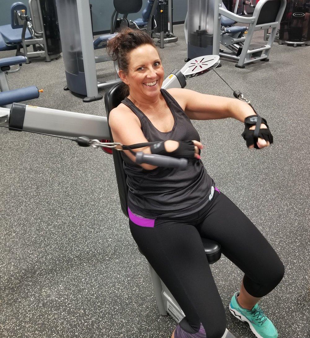 Amanda B. Worked through her physical limitations