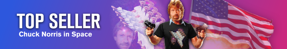 Shop Chuck Norris merchandise and shirts
