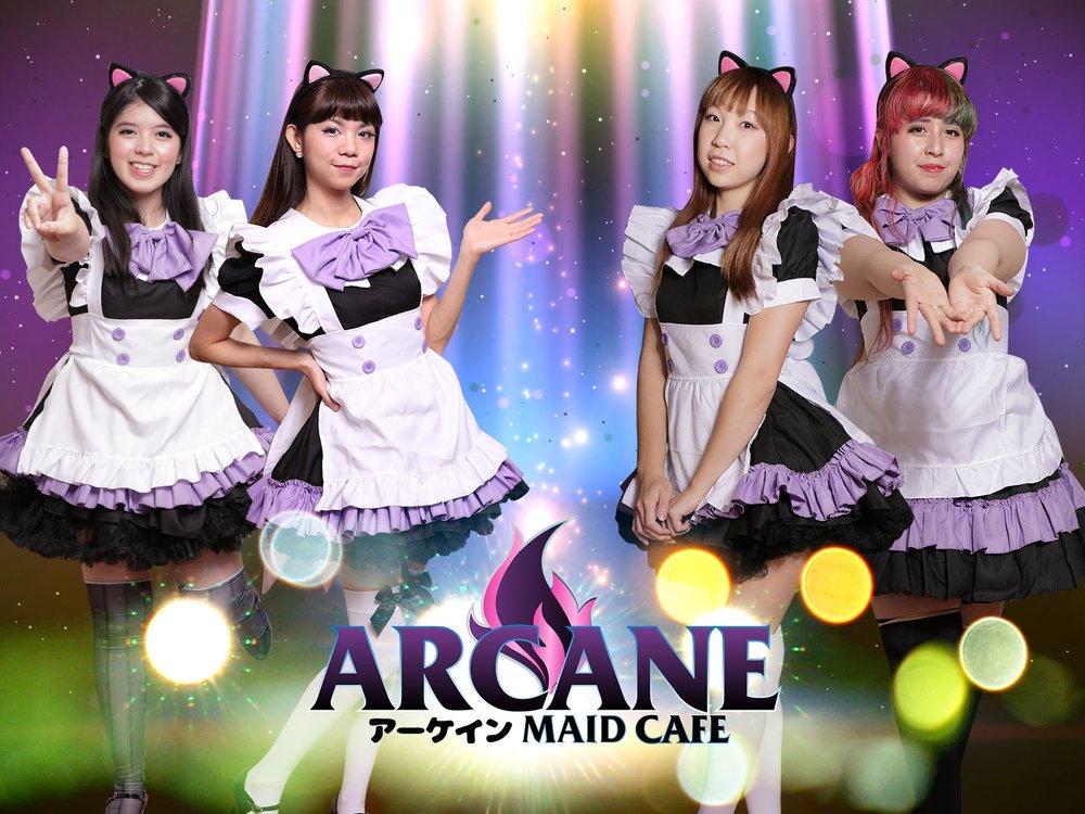 Arcane Maid Idols