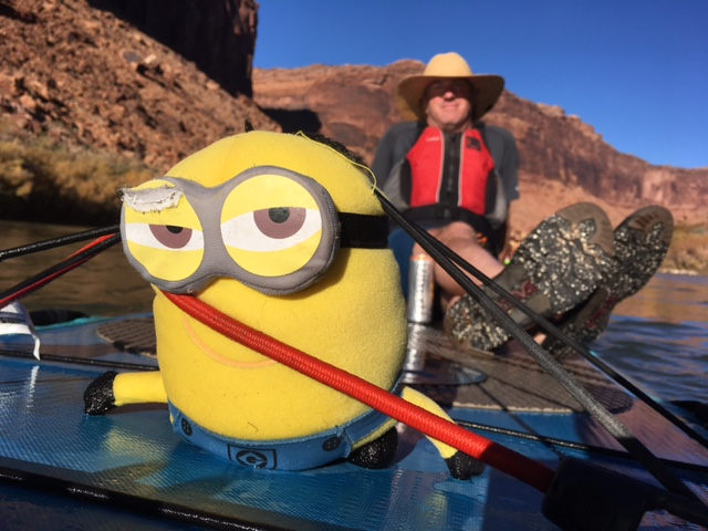 The paddle boarding minion knows best...