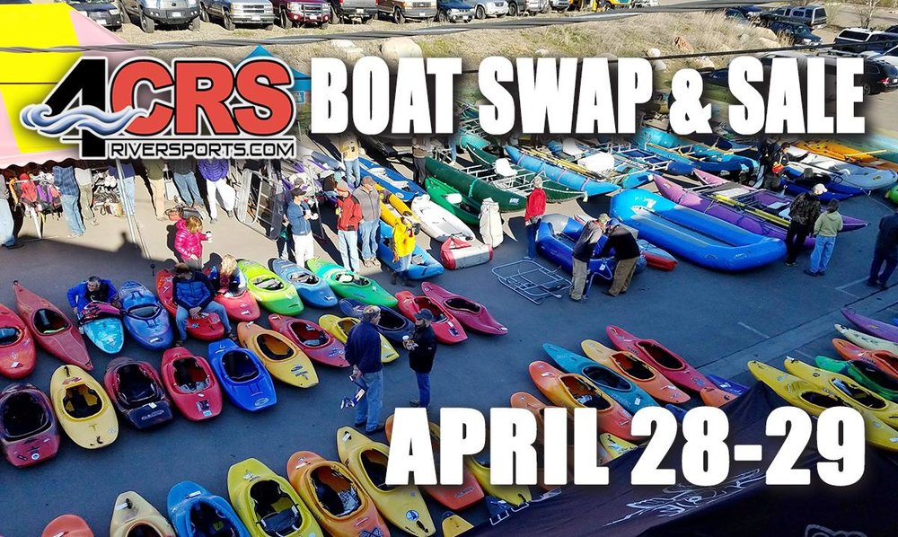 4CRS Annual Spring Boat Swap & Sale 2018