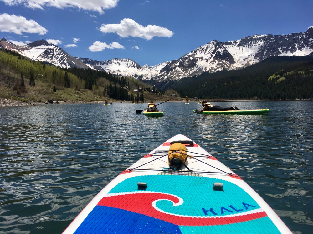Joining SUP clubs and finding outings around Western Colorado are perfect opportunities to get on the water for cheap and meet new SUP friends!