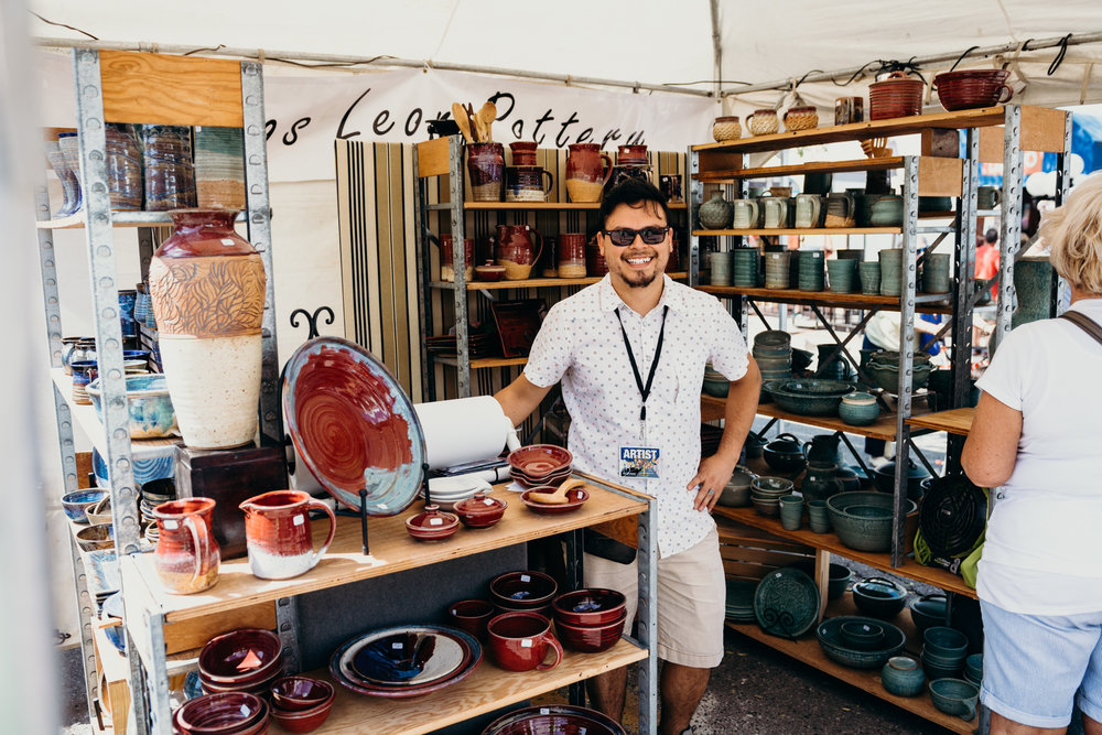 Hector Cobos Leon | Paseo Arts Festival 2017