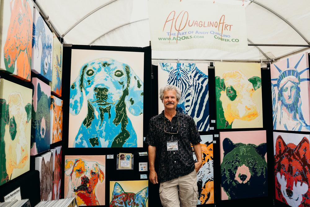 Andy Quaglino | Paseo Arts Festival 2017