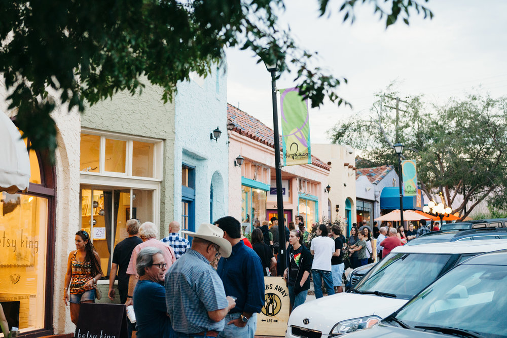 Paseo First Friday Gallery Walk