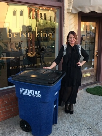 Betsy King of Betsy King. A Shoe Boutique