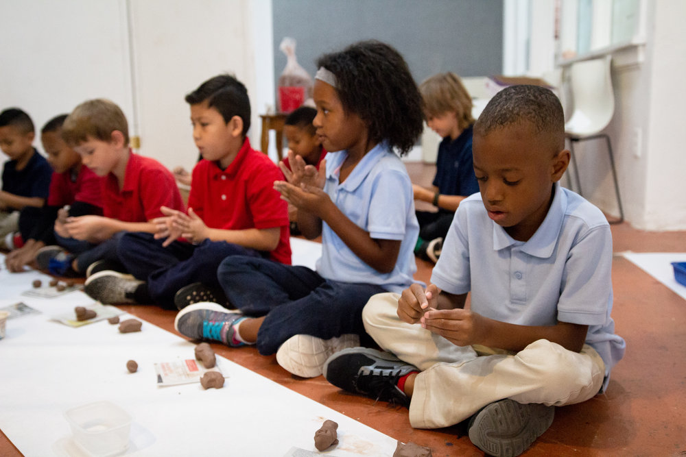 Edgemere Elementary Art Class 2018
