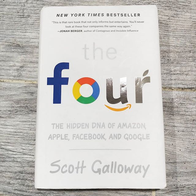 "I just finished up the book I've been posting exerts from. If anyone is interested in what it is, it's called ""The Four"" by Scott Galloway. * It was a great gift from @digiovannadig. * It was a very interesting read. My biggest takeaway from the book was that it  humanized these four mega companies that we all use in our everyday lives that we actually know little about, other than their services and products they provide. And oh yea, who also have a combined total of $2.3 trillion dollars in capital. * The best part about this book, up until the very end, was that in many instances, the authors opinion on certain matters completely clashed with my own, and each time, widen my perspective a bit more. * I apologies in advance, I've already got someone lined up that I'm lending it to, so you'll have to go out and grab your own copy if you want to give it a read! * Also I'm now taking suggestions for my next read! Leave me a comment with some interesting reads you've enjoyed or heard good things about. Preferably non-fiction, business or science based!  #thefour #nytimesbestseller #nytimes #Facebook #Amazon #apple #google #bookworm #goodreads #perspective #entrepreneur #alwayslearning #keepreading #whatsnext #knowledge #sondertraveler"