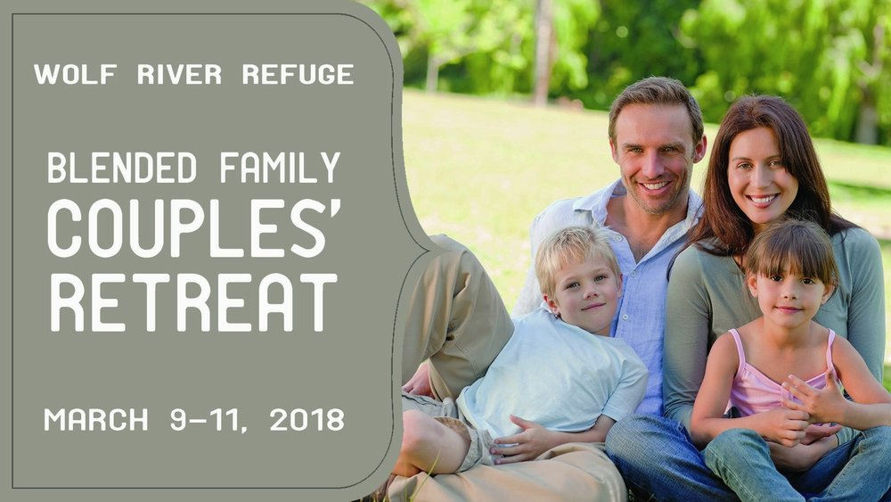 Blended Family Couples' Retreat - Meet other couples and learn seven fundamental steps to blended family success and hear practical, realistic solutions to the issues you face as a blended family.