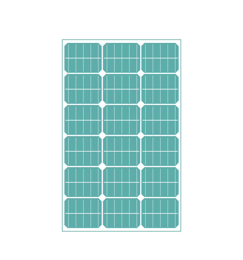 360 Watt Solar System charges your batteries. - No need for external hook-ups, RV parks or limiting your adventures. With our powerful solar system you will keep your van charging throughout the day giving you plenty of power for charging your batteries and running your devices.