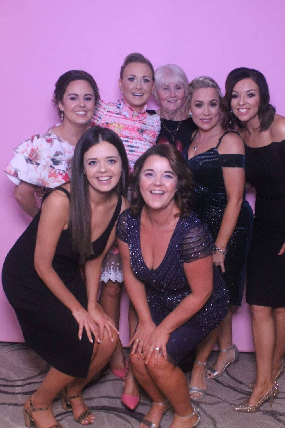 Team Awesome - Karen Daly, Linda McAleer, Keli Reel, Emma Quinn, Grainne Clarke, Susan McGuirk and Kathleen Kelly who between them have lost over 20 stone!!