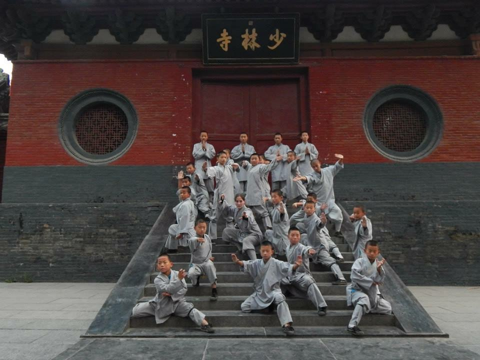 Colorado Kung Fu Academy Manager, Shi Miao Kong, at The Shaolin Temple.