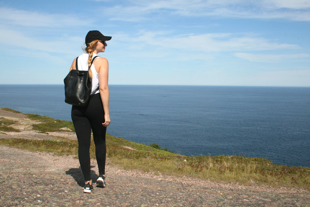 st.john's hiking outfit