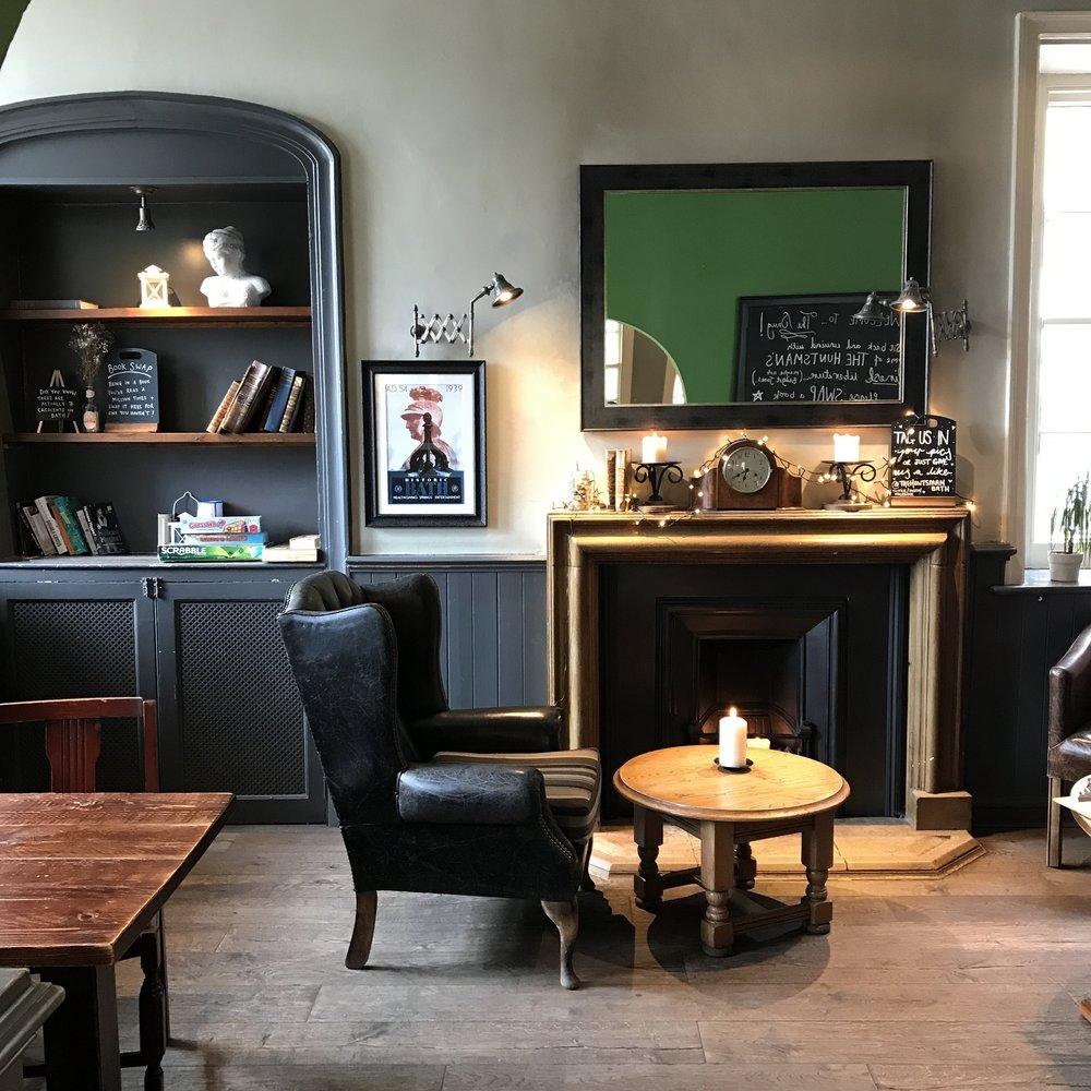 the huntsman pub bar bath england uk