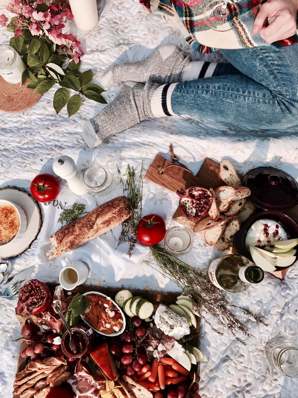 charcuterie board picnic inspiration how to fashion food blog newfoundland fall autumn inspiration