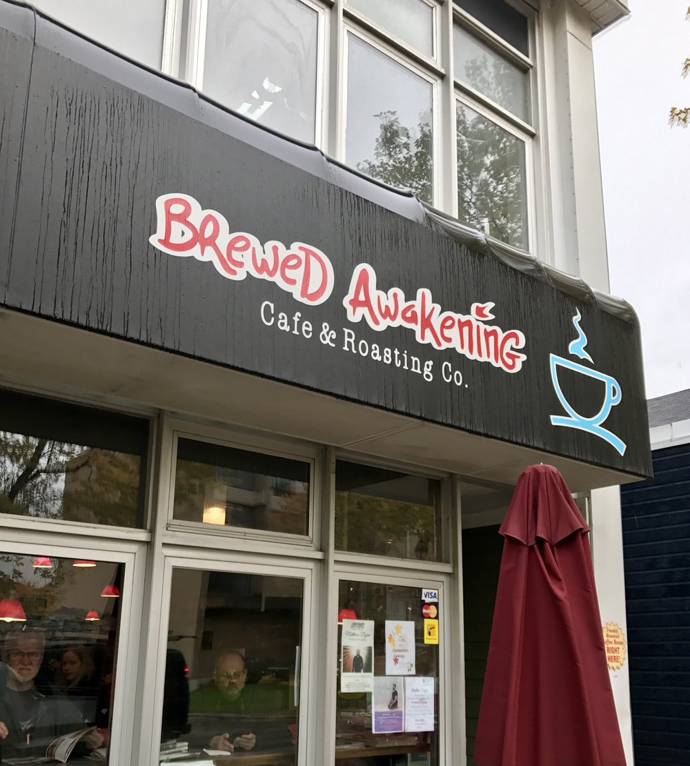 Brewed Awakening Corner Brook Newfoundland coffee