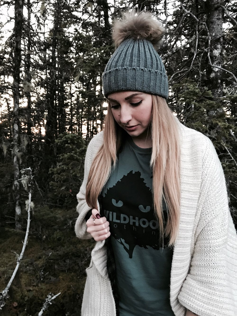 style fall hiking