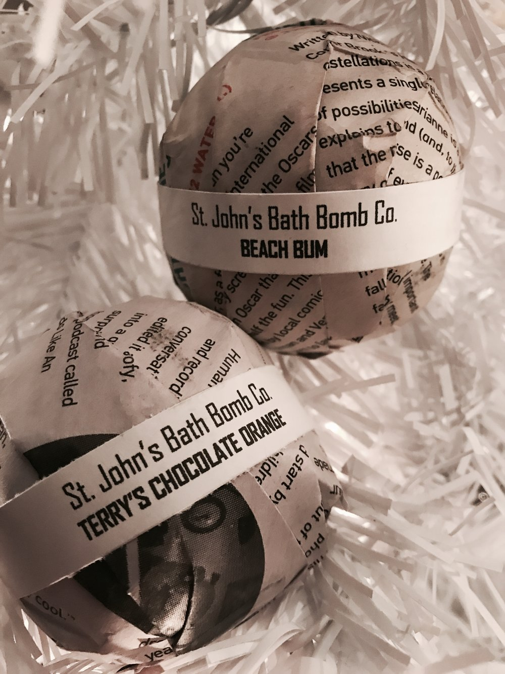 St. John's Bath Bomb Co. - Available at Whink