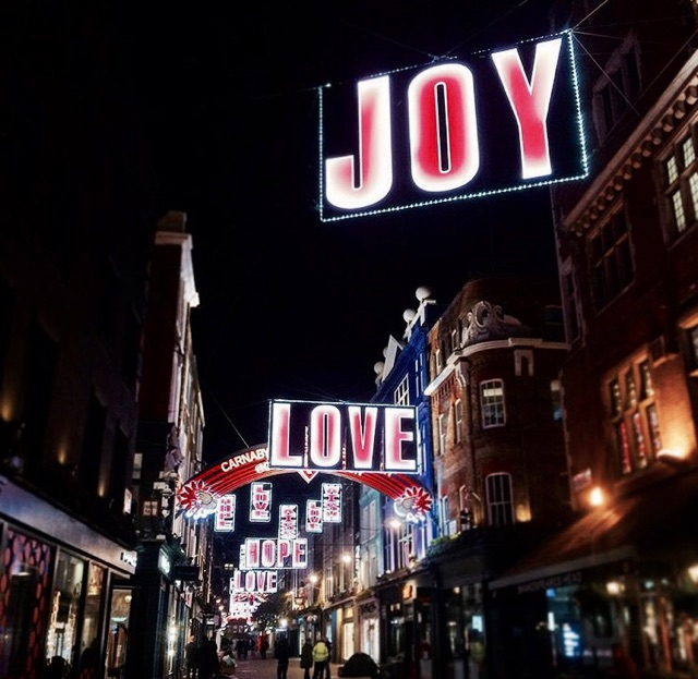 Wander around and take in the Christmas lights - A must do for any holiday getaway! We walked around after the play one night around Piccadilly Circus.