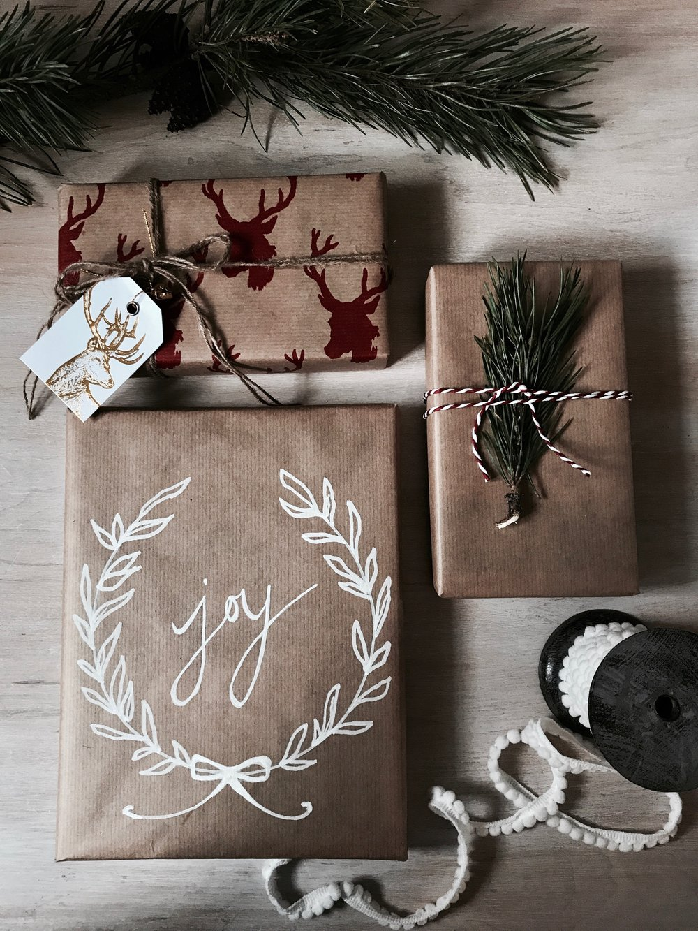 2017 christmas wrapping inspiration