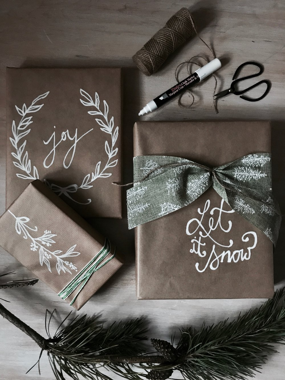2017 christmas gift wrapping