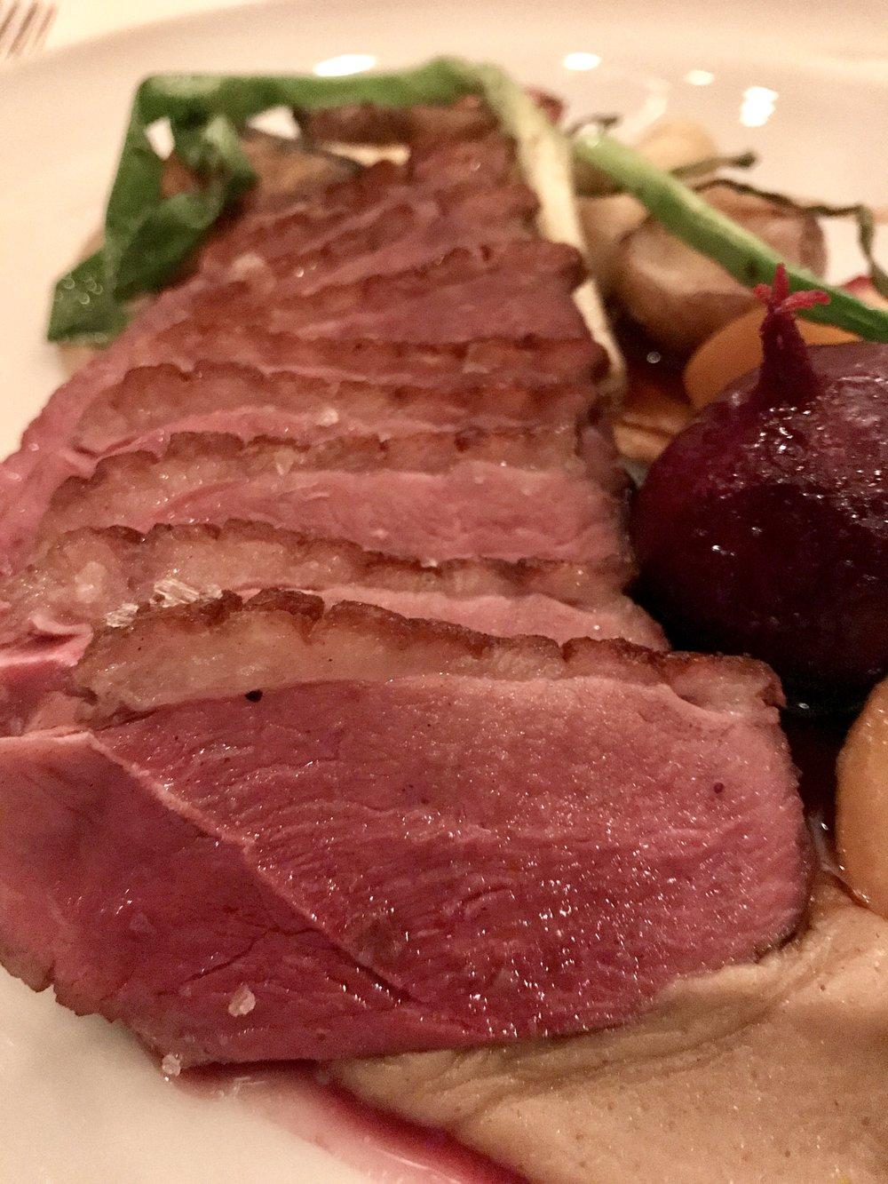 duck main dish menu st. john's newfoundland raymonds restaurant