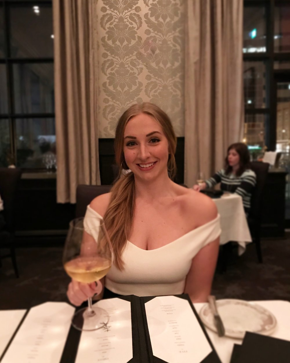 jessica kilfoy food blogger st. john's newfoundland raymonds restaurant wine