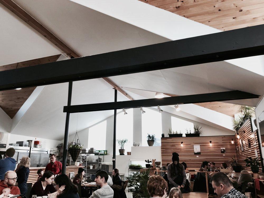 cafe interior modern