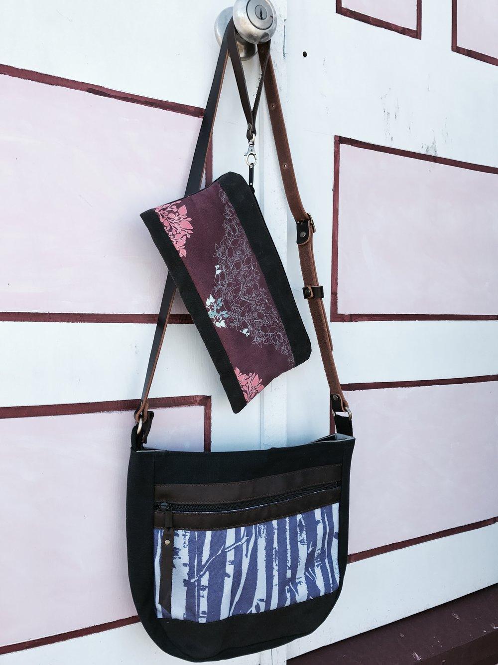 ragmaw handbag purse clutch pouch fabric leather handmade st.john's newfoundland