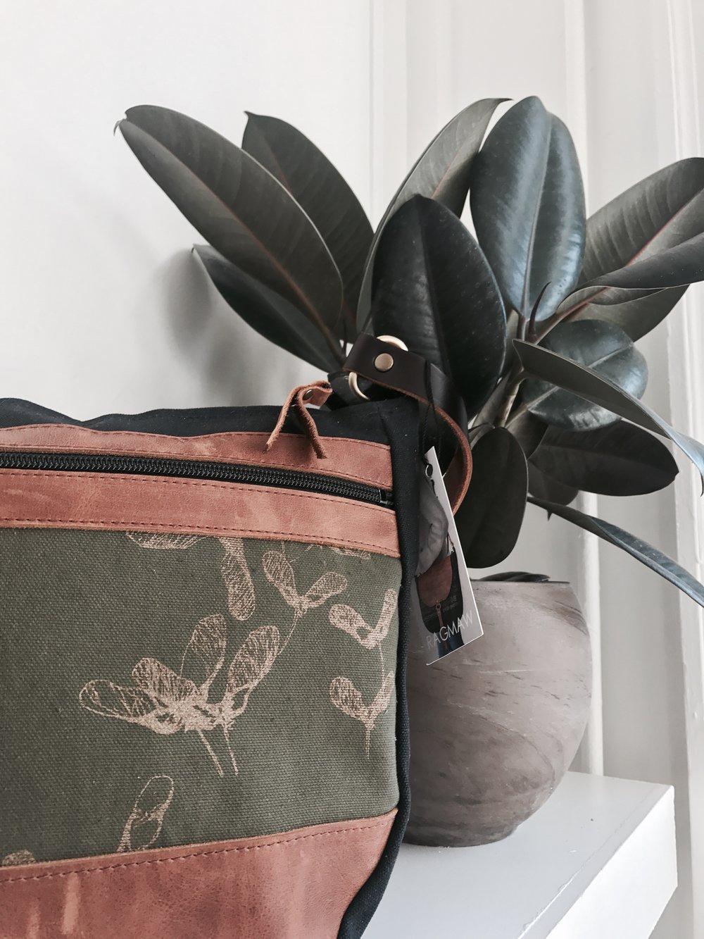 ragmaw handbag purse clutch leather local made handmade st. john's newfoundland megan jackman