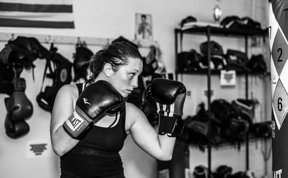 Jessica Lang Perry trainer at Grealish Boxing Club, Boston