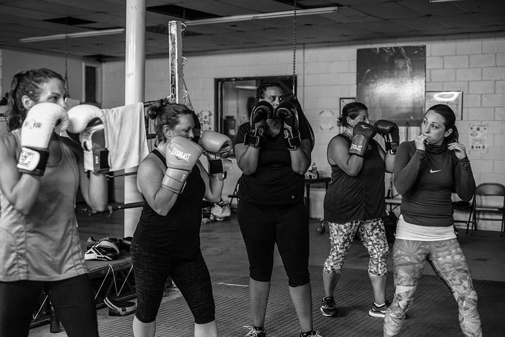 Women's Boxing Class Dorchester.