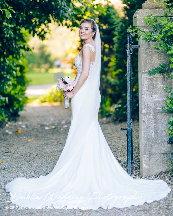 Marlfield House Wedding  Bride