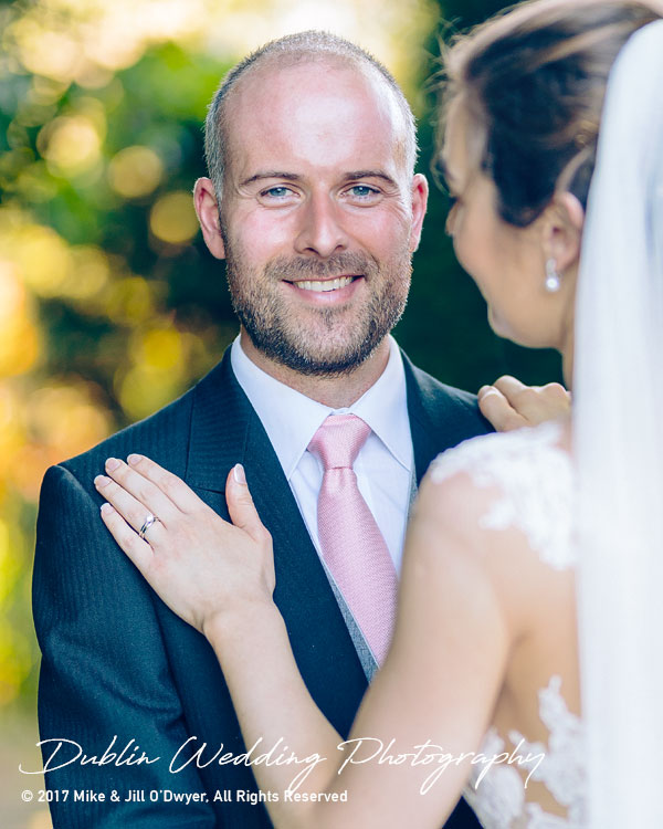 Marlfield House Wedding  Groom