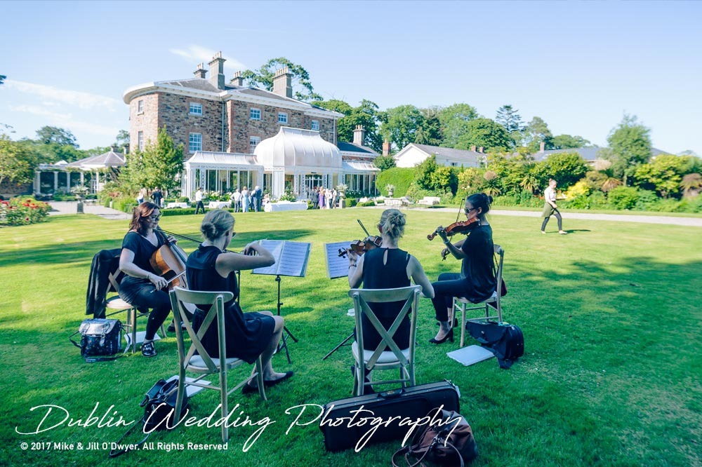 Marlfield House Wedding  Musicians