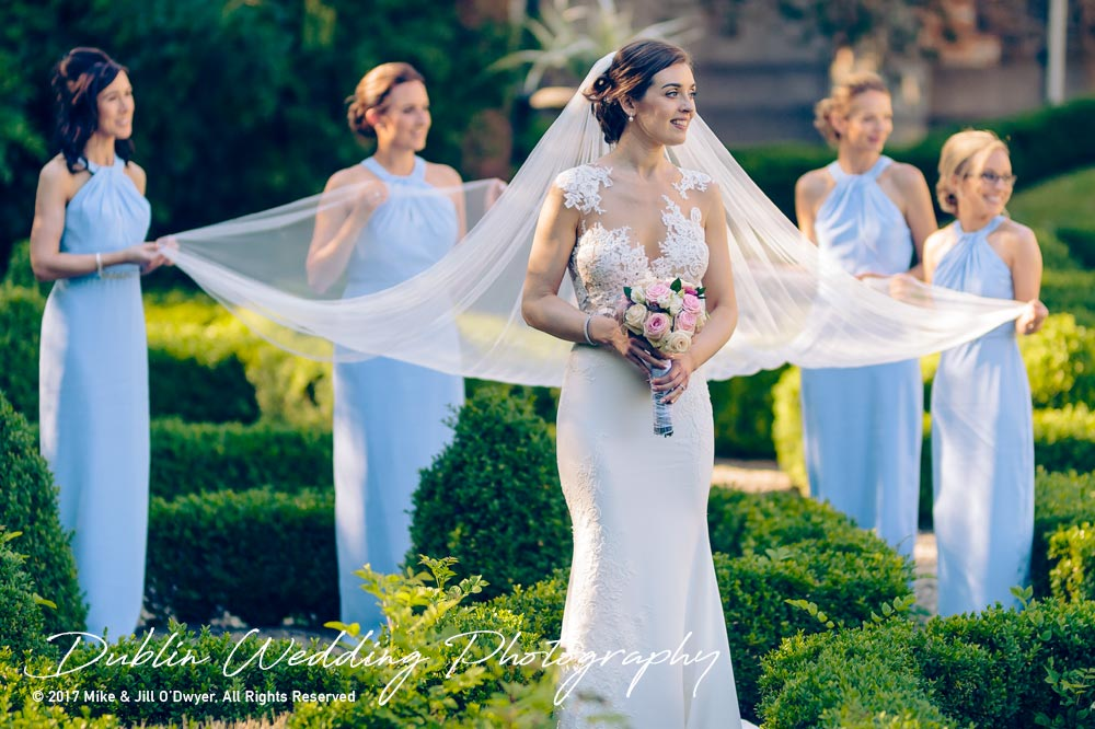 Marlfield House Wedding g Bridesmaids