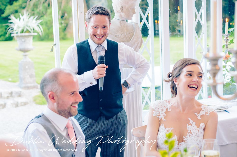 Marlfield House Wedding Best Man's Speech At marfield House Wedding