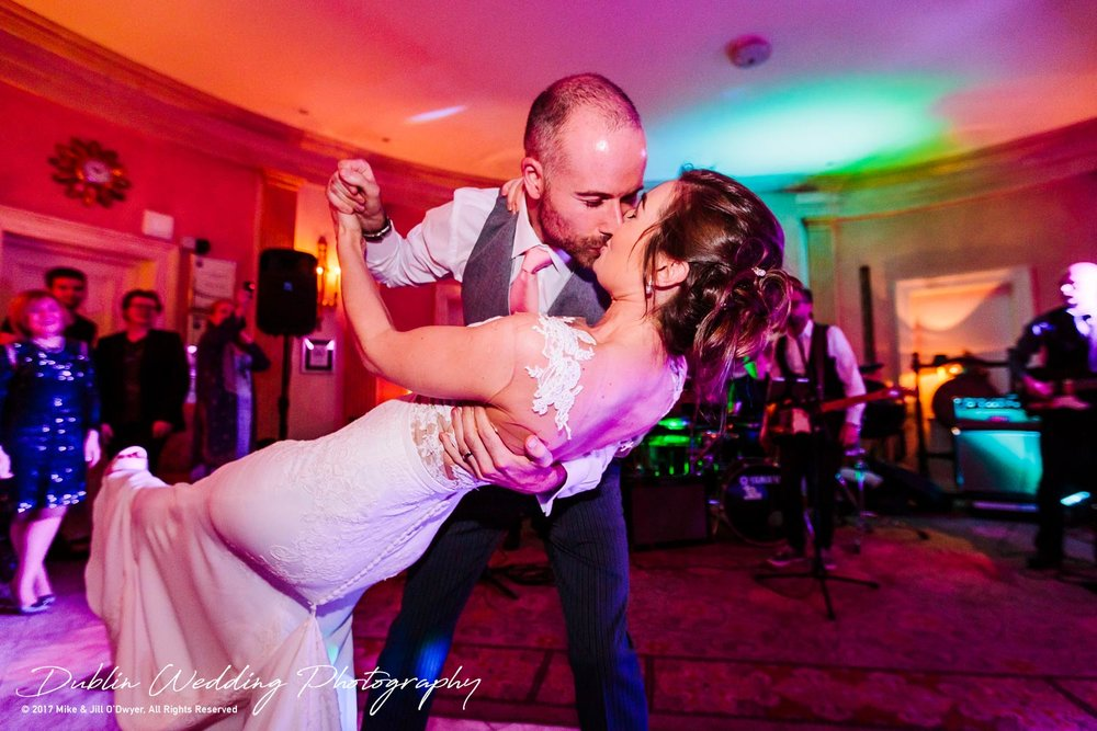 Marlfield House Wedding First dance Bride & Groom