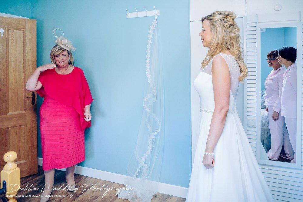 Clonabreany Bride Mum reaction